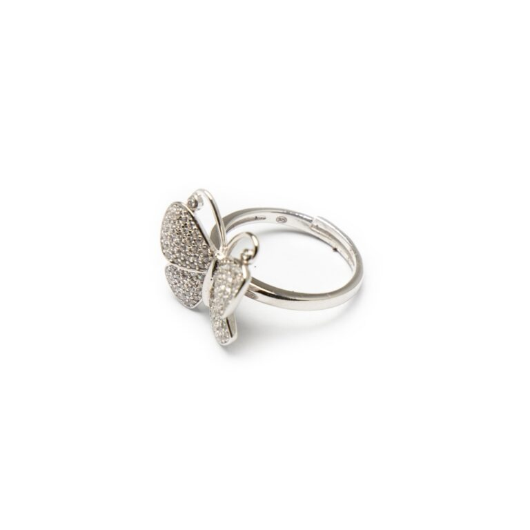 SILVER 925 BUTTERFLY RING