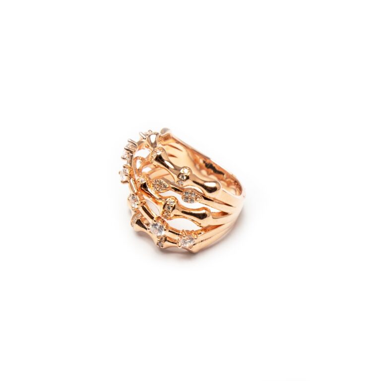 ROSE GOLD PLATED DESIGNED RING
