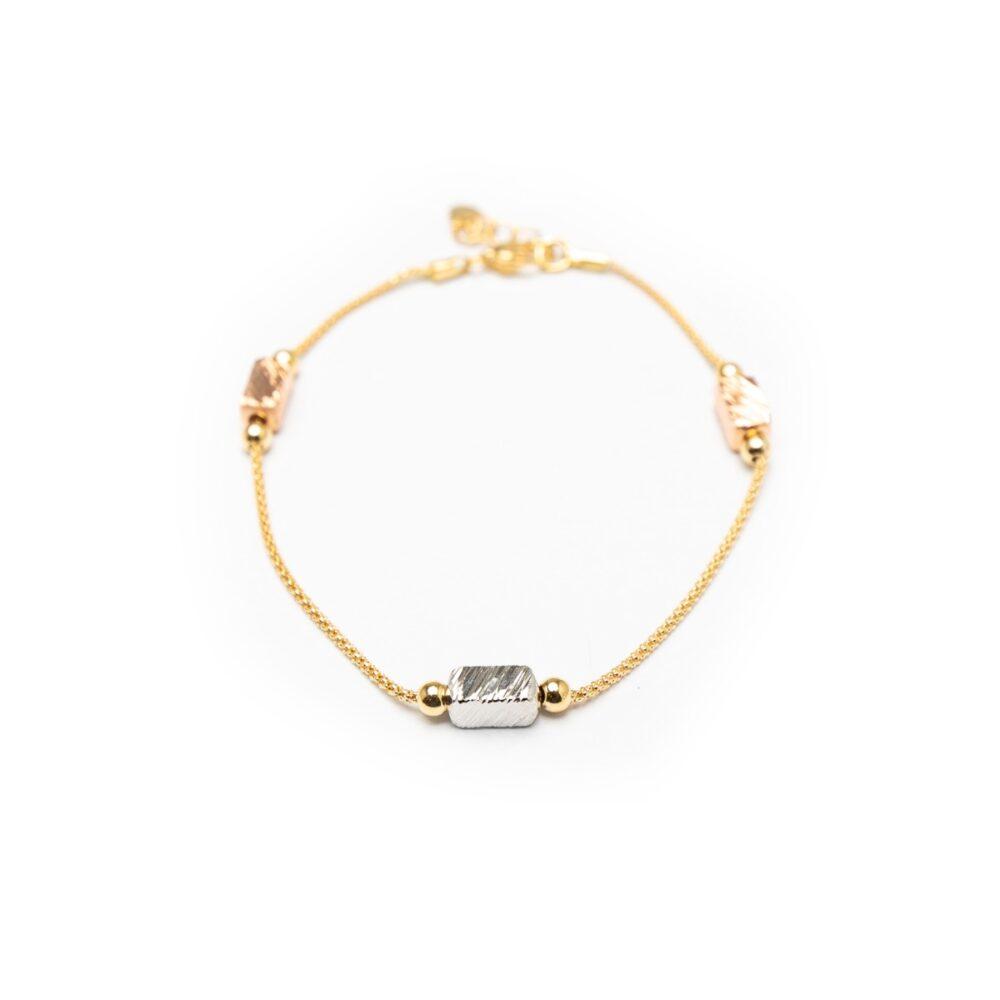 18kt Gold Designed Bracelet