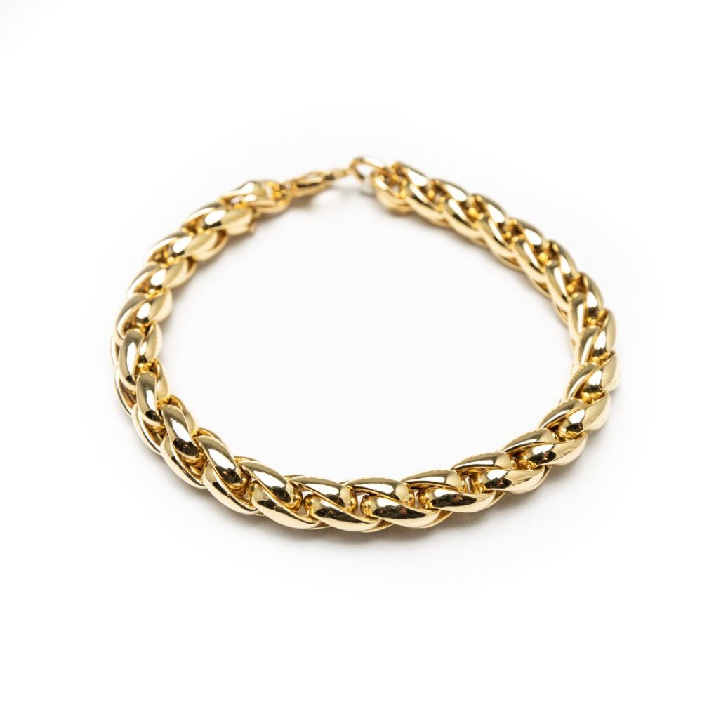 18kt Yellow Gold Chain Bracelet