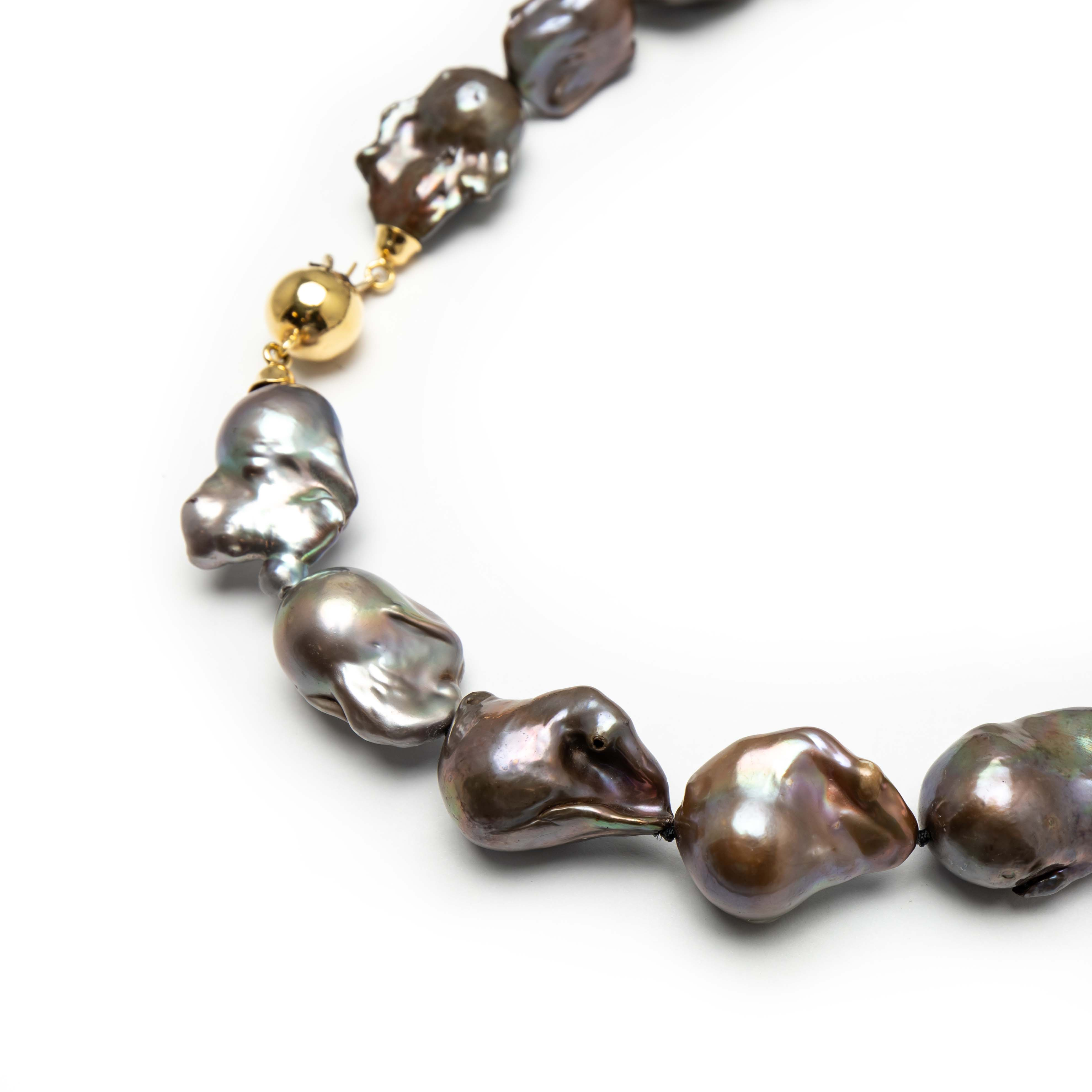 Baroque Cultured Pearl Necklace