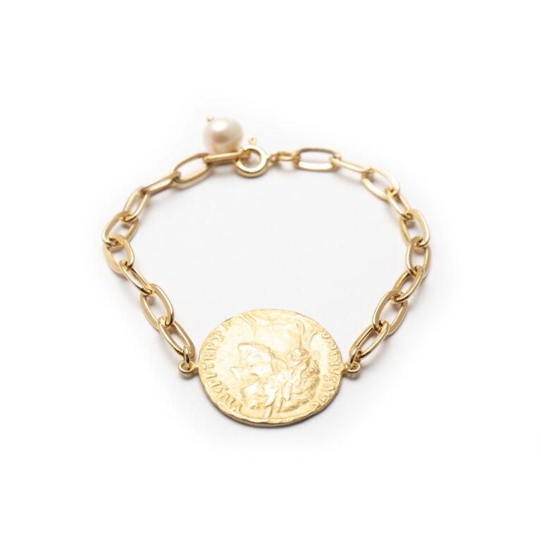 Silver 925 Gold Plated Bracelet