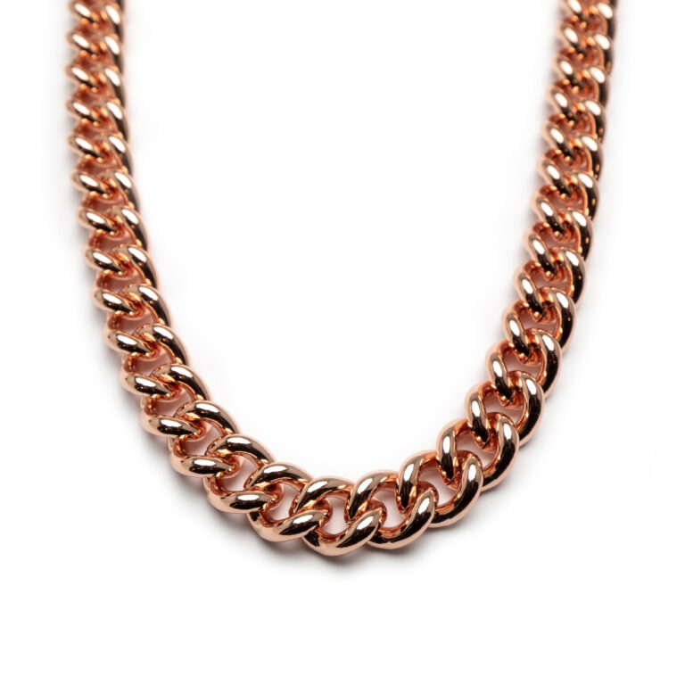 Brass Rose Gold Plated Necklace