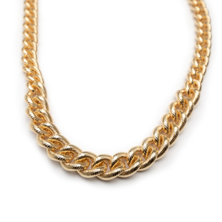 Brass , Gold Plated Necklace