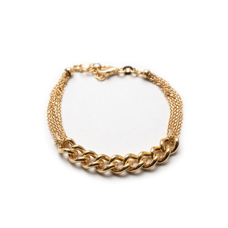 Silver 925 Gold Plated Necklace