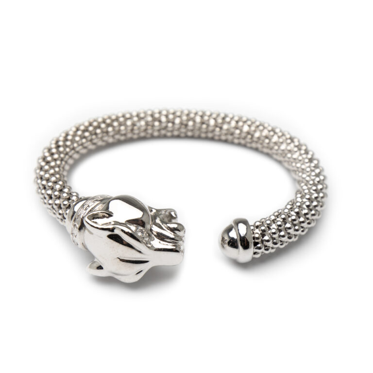 Brass Silver Plated Bangle