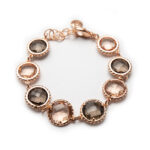 Brass Rose Gold Plated Bracelet