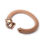 Brass, Ros Egold Plated Bangle
