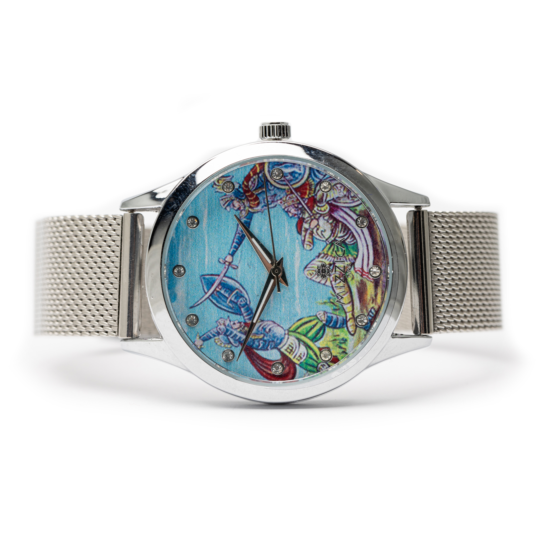 Ladie Designed Steel  Watch.