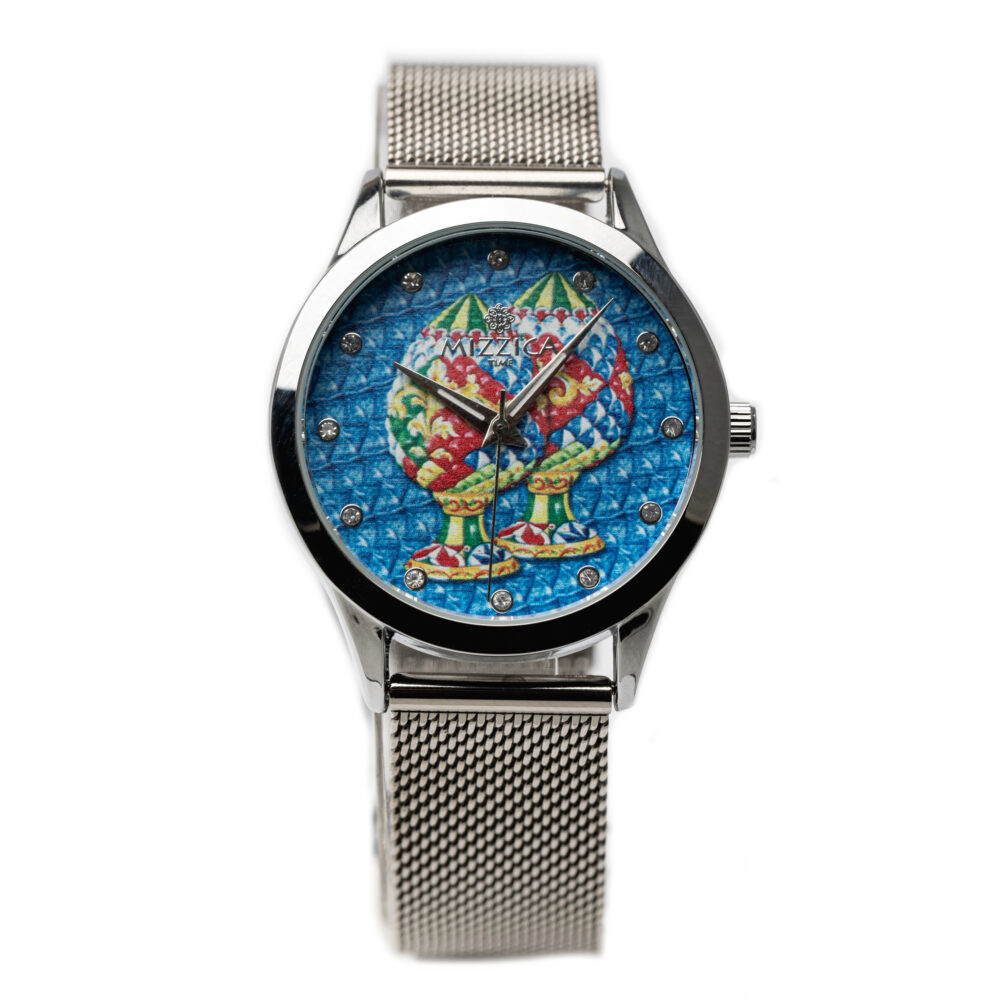 Ladies Steel Designed Watch.