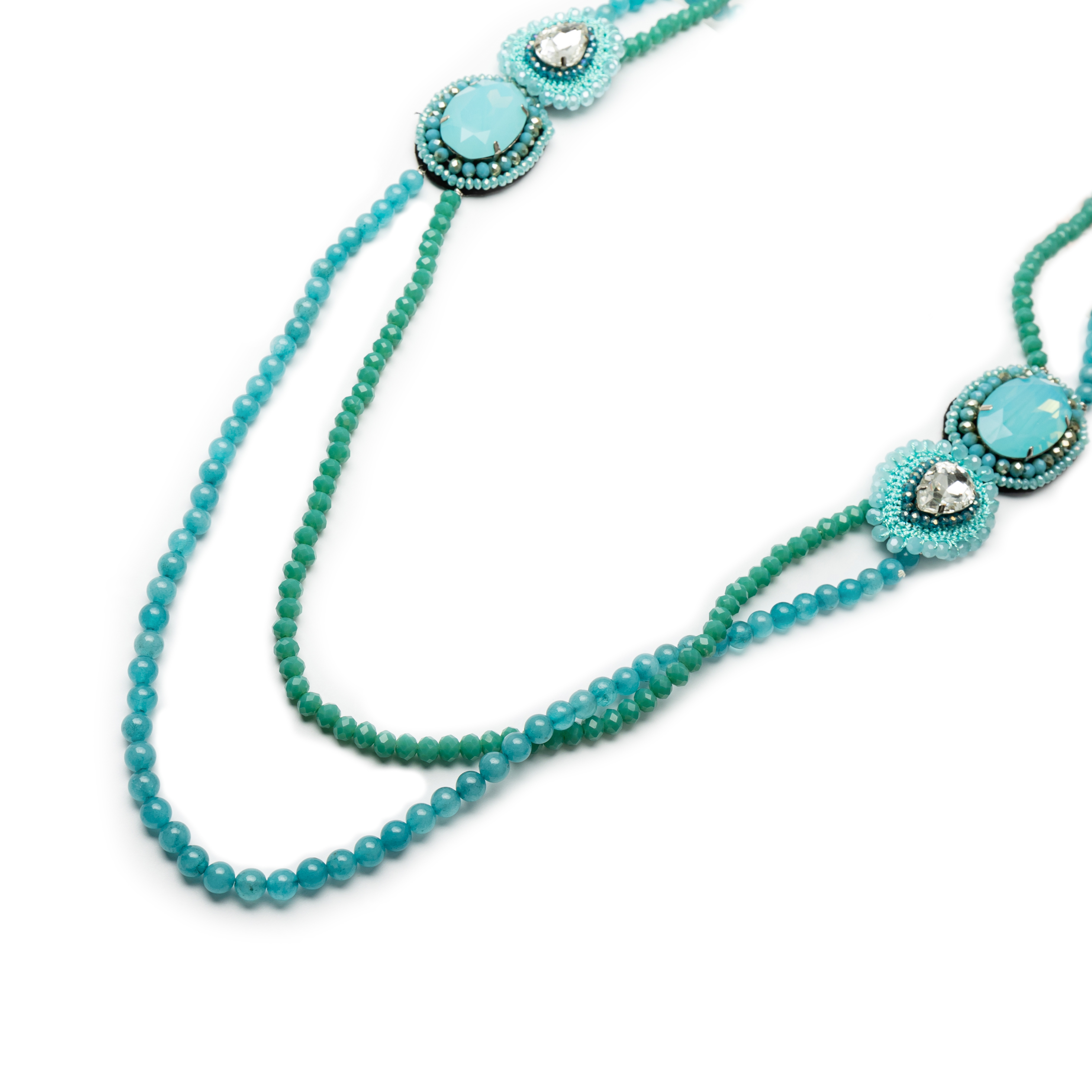Long Designed Necklace.