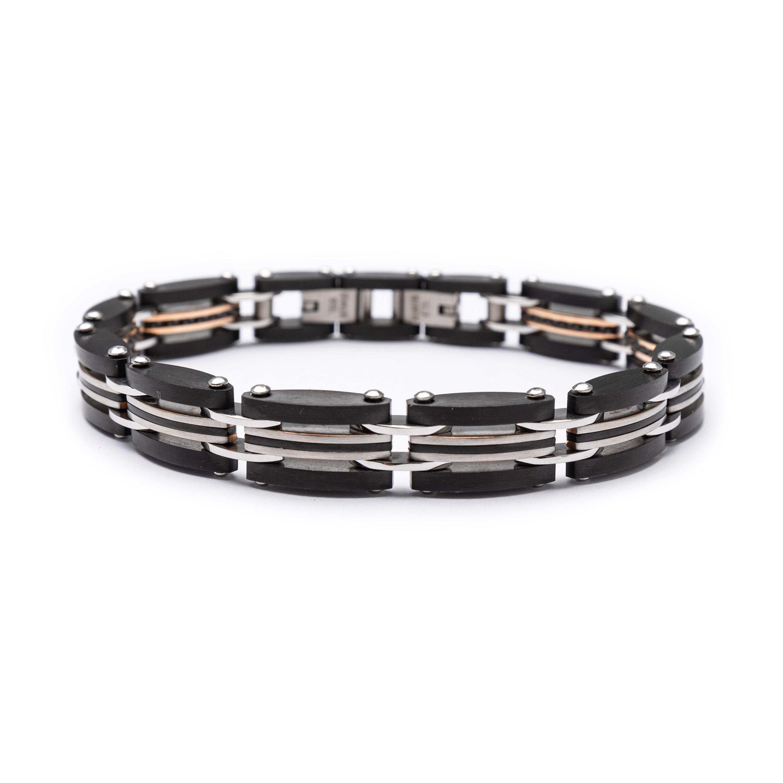 Steel Mens Bracelet.