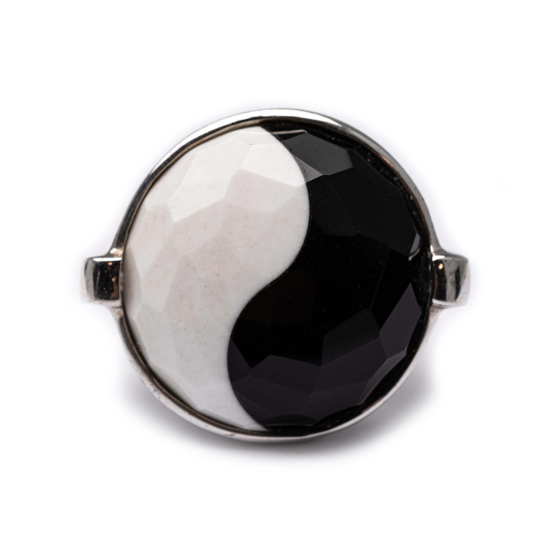 Silver 925, Natural Stone Ring.
