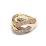 18kt Gold Designed Ring.