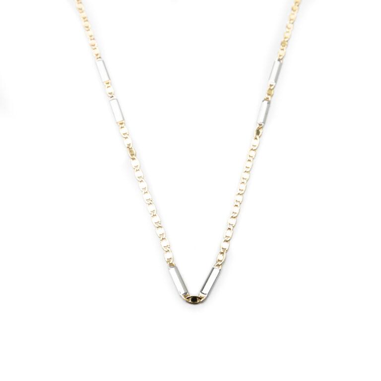 18kt Designed Men's Necklace.
