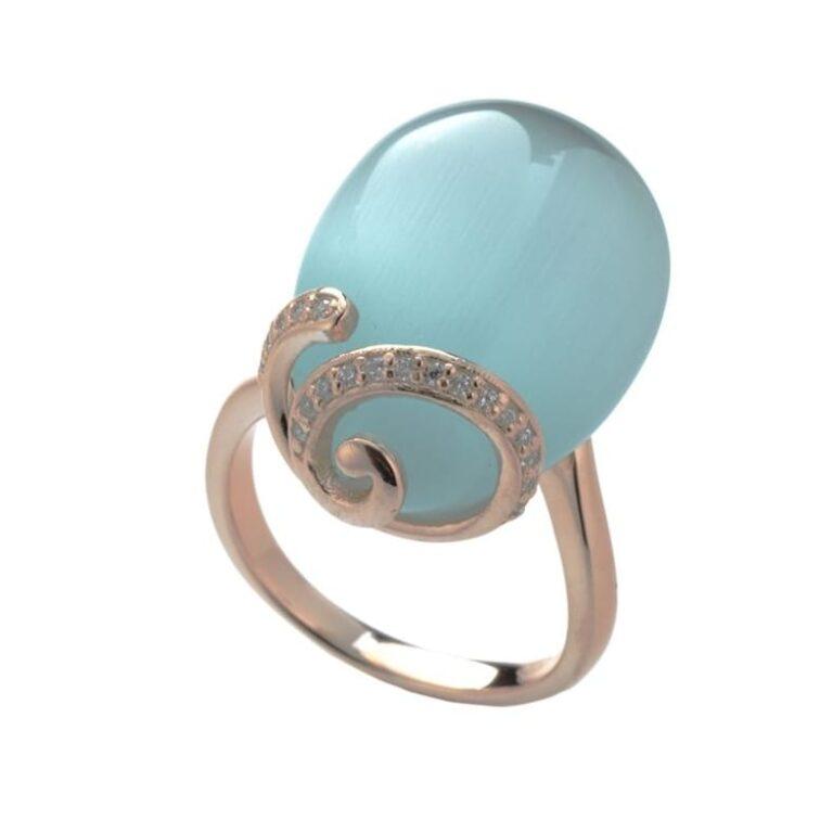 Tatiana Faberge Rose Gold Necklace